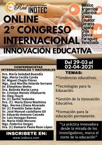 2º Congreso Internacional de Innovación Educativa 2021